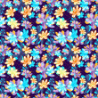 Floral seamless pattern. vector — Stock Vector #30856505