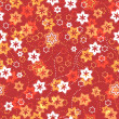 Floral seamless pattern. vector — Stock Vector