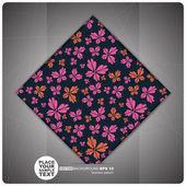 Decorative Tile. vector — Stock Vector