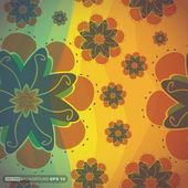 цветочный фон. — Cтоковый вектор