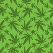 Cannabis leafs — Stock Vector