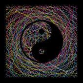 Yin yang sing — Stock Vector