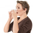 Flu or cold — Stock Photo