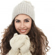 Happy winter girl — Stock Photo #19509379