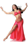 Beautiful belly dancer woman — Stock Photo