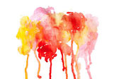 Abstract watercolor paint background — Stock Photo
