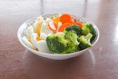 Fresh egg salad — Stock Photo