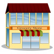 Stock Vector: Grocery Store