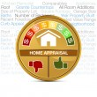 Stock Vector: Home Appraisal
