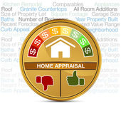 Home Appraisal — Stock Vector