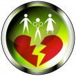 Marital Affair Icon — Stockvektor  #44836249
