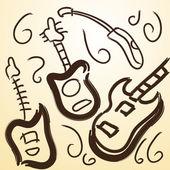 Music Instruments — ストックベクタ