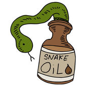 Snake Oil — Stock Vector