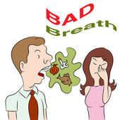Bad Breath — Stock Vector