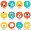 Medical Science Icon Set — Stock Vector #49284313