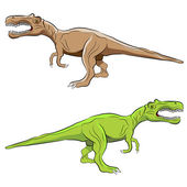 Baryonyx Dinosaur — Stock Vector