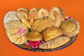 Mexican Bread Basket — Stock Photo