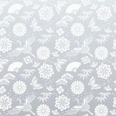Japanese silver background — Vecteur