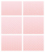 Japanese pink pattern — Stock Vector