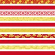 Set of Chinese decorative banners. — Stok Vektör #24335471