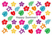 Cartão de verão — Vetorial Stock