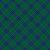 Green and blue tartan check background. — Stock Vector