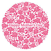 Happy Mother's Day. — Stock Vector