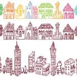 European town. — Stock Vector #47822541