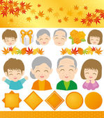 Respect-for-the-Aged Day. — Stock Vector