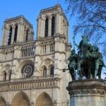 Notre Dame de Paris. Paris. France. — Stock Photo