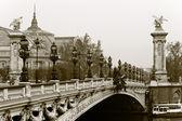 Bridge Alexander III. Paris, France. — Stock Photo