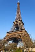 La torre eiffel, parís, francia. — Foto de Stock