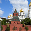The cathedrals of Moscow Kremlin. Russia. — Stock fotografie