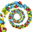 Stock Photo: Colourful spheres