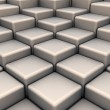 Stock Photo: Abstract background of 3d blocks