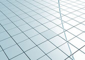 Ceramic tiled floor — Stock Photo