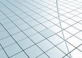 Ceramic tiled floor — Stock Photo