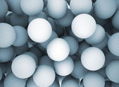 Golf balls background — Stock Photo