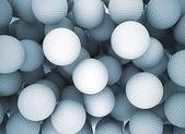 Golf piłki tło — Zdjęcie stockowe