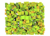 Abstract Cubes Background design element — Stock Photo