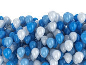 Balloons party background — Stock Photo