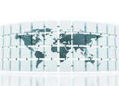 Global network internet concept — Stock Photo