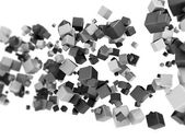 Abstract cubes — Stock Photo