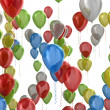 multicolored balloons — Stock Photo #34259275