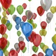 Multicolored balloons — Stock Photo