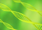 DNA background illustration — Stock Photo