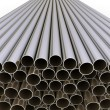 Metal tubes — Stock Photo