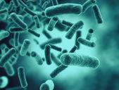 Bacteria, virus, cell 3d — Stock Photo