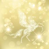 Magic Pegasus — Stock Vector