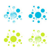 Abstract Cell Set — Stock Vector